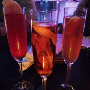 Champagner-Cocktail Seelbach