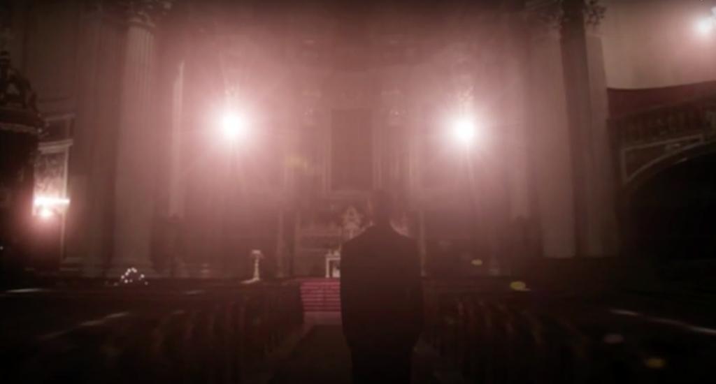 Aus dem Trailer zu meinem Thriller »Angelus Novus«