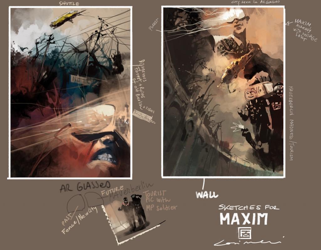 Sketches von Maxim